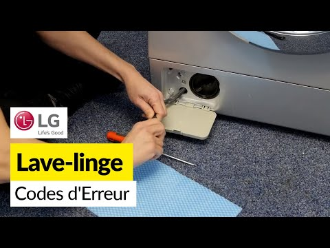 How to fix LG Washing Machine LE Error Code - Upgraded 6501KW2002A