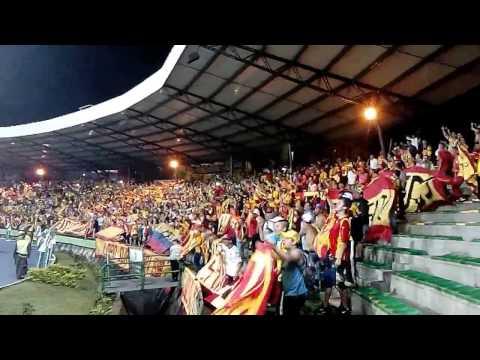 """""""LOBO SUR PEREIRA en ARMENIA 05/04/16 SOMOS LA BANDA DEL EJE"""" Barra: Lobo Sur • Club: Pereira"""