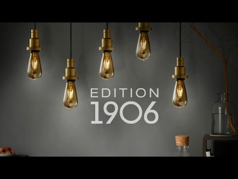 Retro Filament LED-Lampen Edition 1906 von OSRAM
