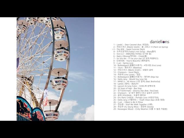 ♫ danielions' Best of 2018 - K-Indie (happy)
