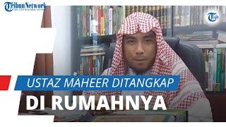 Ditangkap di Rumahnya di Bogor, Ustaz Maaher At-Thuwailibi Jadi Tersangka Dugaan Ujaran Kebencian