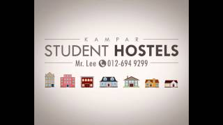 preview picture of video 'Student Hostel Rental Agency Home for Rent in Kampar Perak Malaysia'