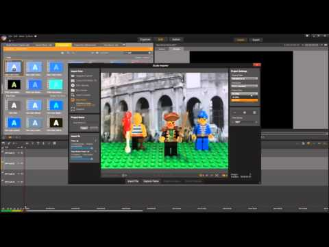 NEW! Stop Motion Animation Tutorial in Pinnacle Studio