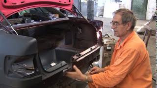 Ремонт АУДИ после ДТП часть 2. Audi repair after an accident part 2