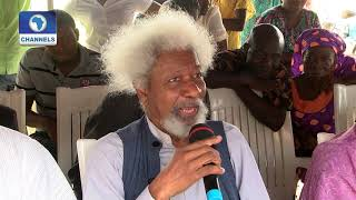 All My Life I Have Been Giving My Seat To Older People - Soyinka