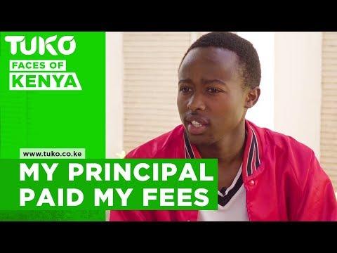 The principal paid all my school fees- Paul Wambua | Tuko TV
