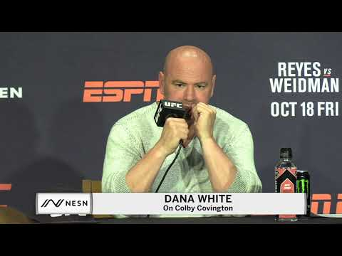 Dana White Fires Back At Colby Covington After Threat