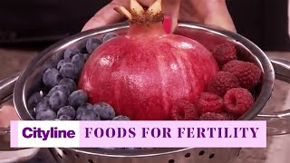 The top foods to eat if you're trying to get pregnant