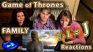 Game of Thrones | R+L=J compilation | FAMILY Reactions