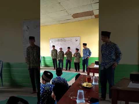Sholawatan bersama anak MTS raudhatul islamiah