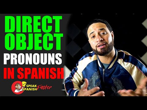 Download Simple Guide To Direct Object Pronouns In Spanish   Part 1 Mp4 HD Video and MP3