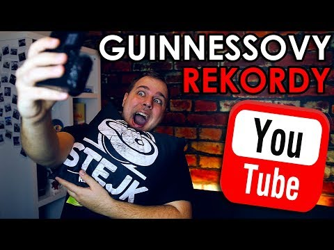 YOUTUBE - GUINNESSOVY REKORDY