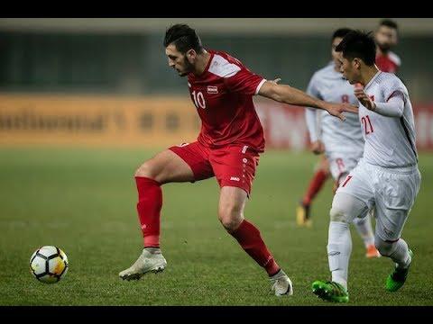 Syria 0-0 Vietnam (AFC U23 Championship 2018: Grou...