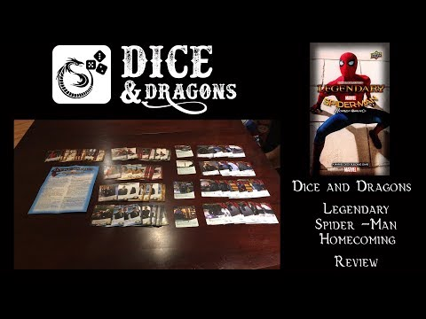 Dice and Dragons - Legendary Spider - Man Homecoming Review and How to Play