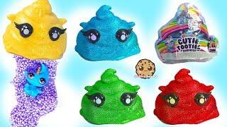 Slime Surprise Poopsies Cutie Tooties Blind Bags ! Cookie Swirl C Video