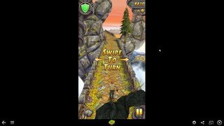 How to Play Android Temple Run 2 game on PC Windows 7