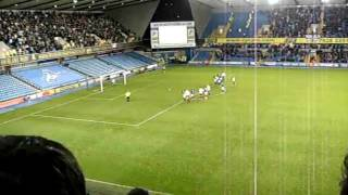 preview picture of video 'Millwall - Portsmouth 78.Min Tor durch Lawrence.avi'