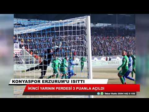 Konyaspor Erzurum'u ısıttı