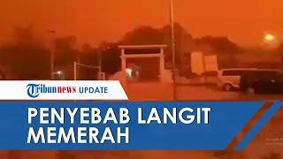 Viral Penyebab Langit Merah di Jambi yang Dikenal dengan Hamburan Rayleigh