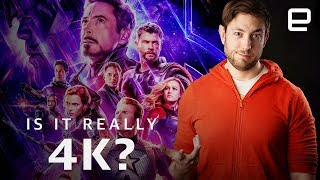 Why your Avengers UHD Blu-rays aren't actually 4K | Upscaled
