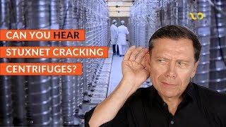 Can you HEAR Stuxnet damaging centrifuges at Natanz?