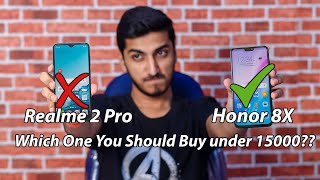 Realme 2 Pro vs Honor 8X Design, Camera. Performance Comparison - Which One You Should Buy??