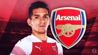 LUCAS TORREIRA - Welcome to Arsenal - Deadly Skills, Tackles & Passes - 2017/2018 (HD) - dooclip.me