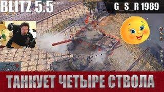 WoT Blitz - Так могут только совки. Эпичный Колобанов Объект 140 - World of Tanks Blitz (WoTB)