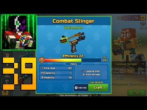 Pixel Gun 3D - Gameplay Walkthrough Part 39 - Combat Slinger