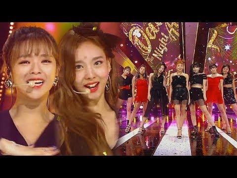 《ADORABLE》 TWICE(트와이스) - Dance The Night Away @인기가요 Inkigayo 20180722