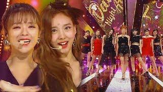 《ADORABLE》 TWICE(트와이스)   Dance The Night Away @인기가요 Inkigayo 20180722