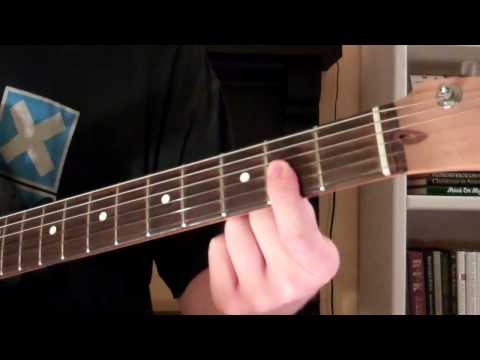 How To Play the Dmaj7 Chord On Guitar (D Major 7)