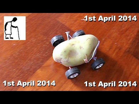 Hey Grandad Can You Make A Potato Powered Car? Yes, Today Only (APRIL FOOL)