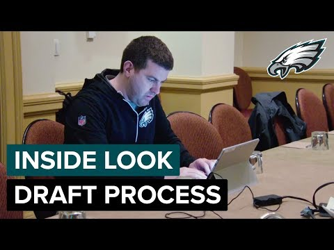Inside the Draft Process w/ Player Personnel Coordinator Casey Weidl | Philadelphia Eagles