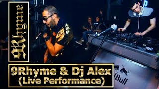9Rhyme & DJ Alex WhiteBeat (Live Performance)