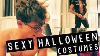 TRYING ON SEXY HALLOWEEN COSTUMES!