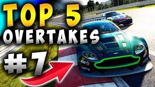 Racing Games | Top 5 Overtakes Of The Week ep7