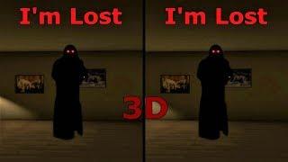 3D VR horror video I