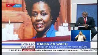Heshima za mwisho za aliyekua mbuge wa Kibra Ken Okoth