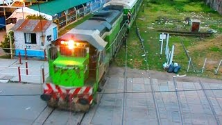 preview picture of video 'GT-22CW #9021 ingresando a La Banda con el Tren Nº266 (14-01-15)'