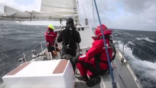 Skip Novak's Storm Sailing Techniques Part 1