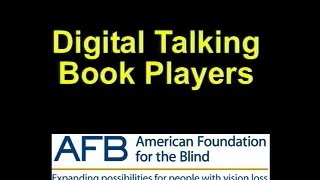 Digital Talking Book Players