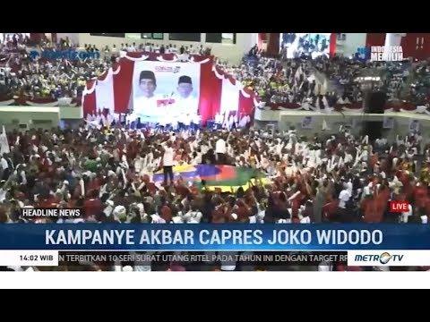 Jokowi Kampanye Akbar di Palembang
