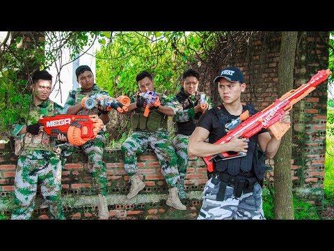 LTT Game Nerf War : Dangerous Task Winter Warriors SEAL X Nerf Guns Fight Criminal Group