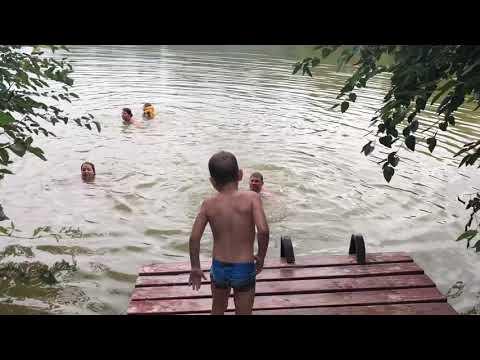 На озере в Георгиевске