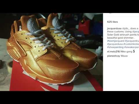 Video Thumbnail of Jacquard Top Custom Shoes Of The Week #1