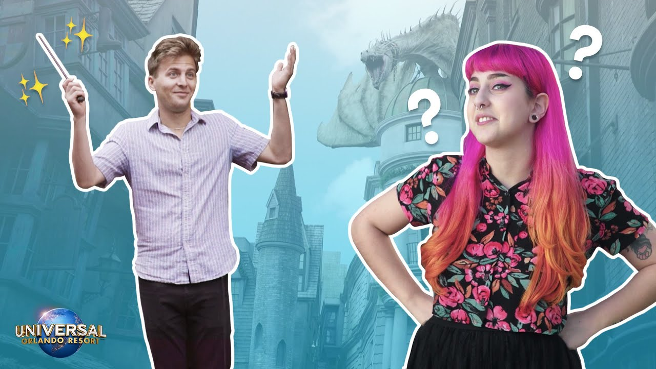 Harry Potter™ Newbies Visit The Wizarding World of Harry Potter™ // Presented by Universal Orlando thumbnail