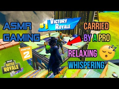 ASMR Gaming | Fortnite Carried By A Pro Relaxing Whispering 🎮🎧 Controller Sounds 😴💤