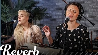 "Aly & AJ Perform ""Promises"" & ""Bang Bang (My Baby Shot Me Down)"" 