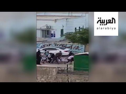 العرب اليوم - شاهد: محاولة تهريب جثمان سيدة مشتبه بإصابتها بـ
